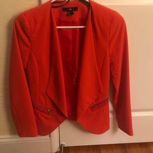 Beautiful never worn red blazer